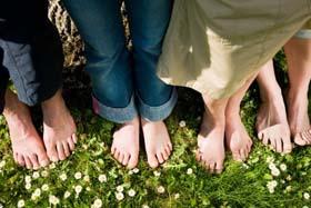Dorn-Methode für die Füße